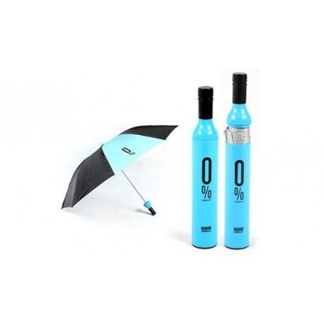 Deštník v láhvi - pánský (modro-černý)