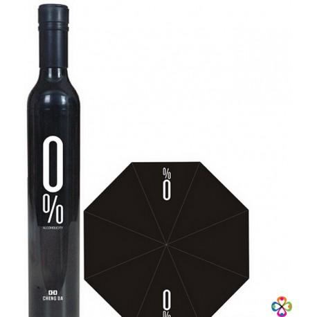 Deštník v láhvi - pánský (černý)