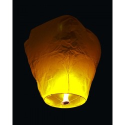 Lampion štěstí - bílý