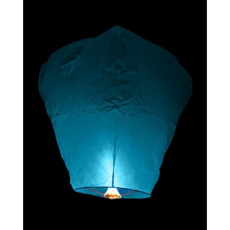 Lampion štěstí - modrý