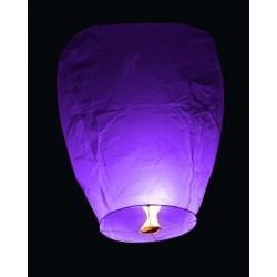 Lampion štěstí - fialový