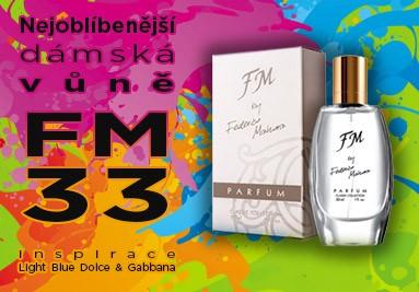 FM 33 nejoblíbenější dámský parfém